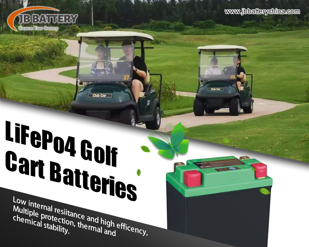 Is There A Better Battery Than 12 Volt 20ah Or 35ah Deep Cycle Custom Made Lithium Ion Golf Cart Battery Packs?