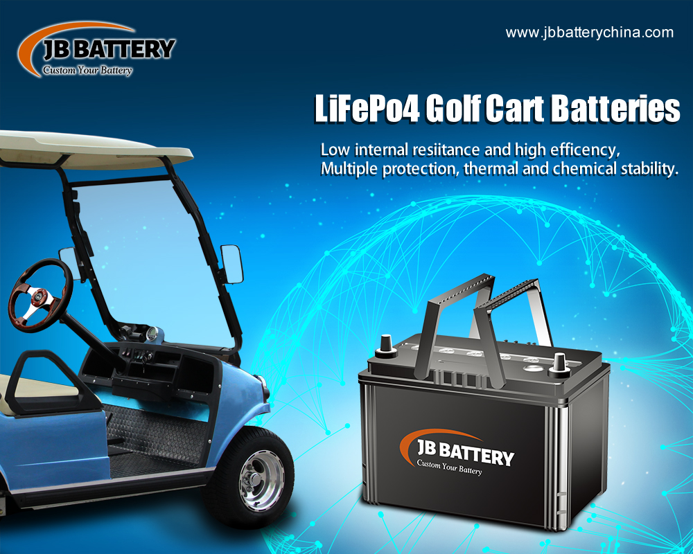 JB Battery Is A Top Custom Made Lithium Ion Golf Cart Battery Pack Manufacturer In China