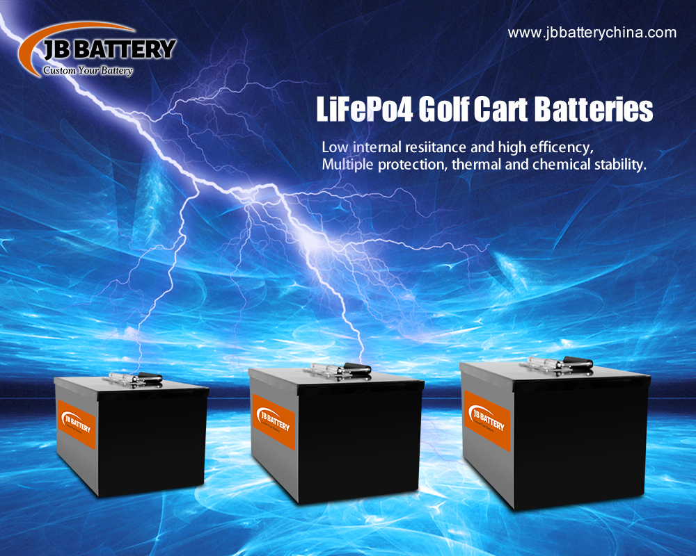 China LifePO4 Golf Cart Battery Pack Manufacturer (3)