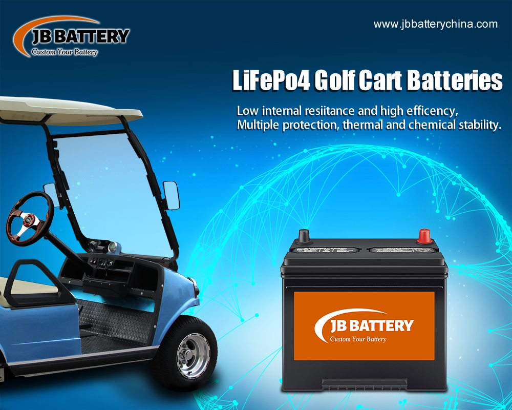 China LifePO4 Golf Cart Battery Pack Manufacturer (40)
